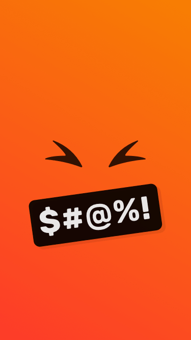 Free Emoji Wallpaper - Angry Face